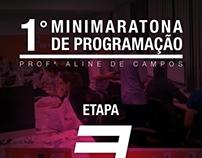 Poster - 1° Minimaratona de Programação