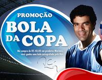 Marinex - Promoção Bola da Copa