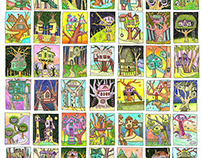 Tree House Sketch Series