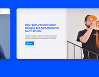 New Web design for Innovation Designs