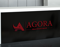 AGORA | Real Estate Group | Creative Logo