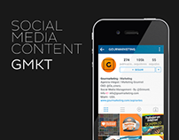 Social Media Content - Gourmarketing