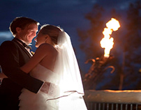 Light the Lamps with the Colorado Wedding Photographers
