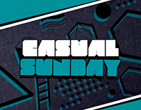 Casual Sundays Party Flyer Template