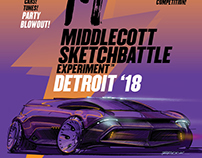Middlecott Sketchbattle Experiment poster art