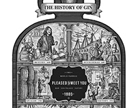 The History of Gin Illustrated by Steven Noble