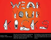 Typography - KICKS
