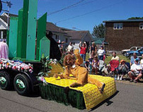 Rockaway Beach 4th of July FLOAT - Grand Prize Winner