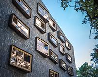 VUB Residence by Bogdan & Van Broeck Architects