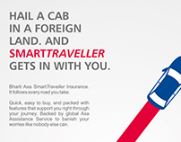 Bharti Axa SmartTraveller Insurance - Pitch Layouts