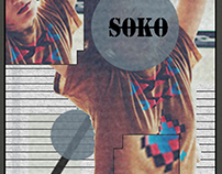 "Cover to song ""Shitty day"", Soko"