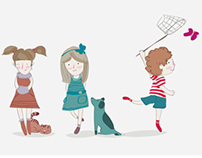 KIDS STORY //ILLUSTRATIONS /clothing store for children