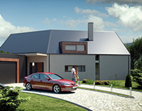 Visualizations of family house
