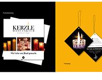 Corporate Design / Branding Kerzle-Manufaktur