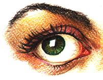 Eyes study 1