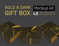 Gold & Dark Gift Box Kit