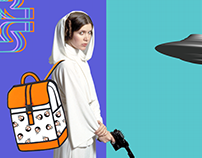 Object design + star wars + postmodernism