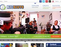 Kickists (Fund Raising Website)