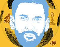 Lionel Messi Digi-stration™