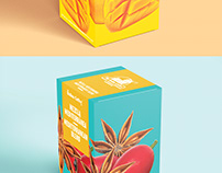 The Italian Coffee Company tea packaging