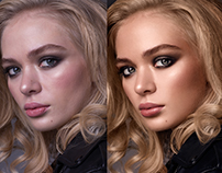Hi-end beauty retouch Before | After
