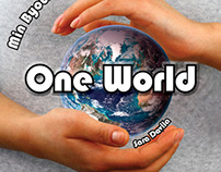 """One World"" Sample Cover and Interior Design"