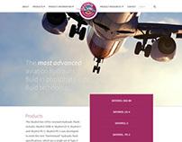 Skydrol Website Redesign - Concept