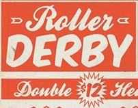 Roller Derby Poster 5.11.13