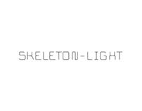 Skeleton-light font