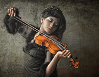 Beauty Violinist