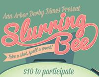 Slurring Bee Poster