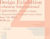 Senior Exhibition Invitation