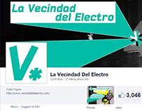 La Vecindad del Electro 2013 schedule rebrand