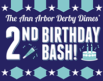 A2D2 Birthday Bash Poster