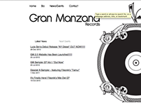 Gran Manzana Records Website
