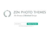 Themes for photographers | ZenPhotoThemes.net