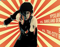 Roller Derby Poster 7.13.13