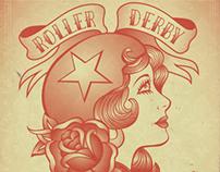 Roller Derby Poster 7.27.13
