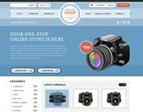 Shop Press  WordPress theme