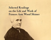 """Frances Shimer"" Cover and Interior Design"