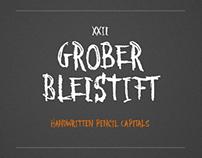 XXII Grober Bleistift - Font