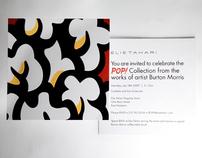 BURTON MORRIS EVENT INVITE
