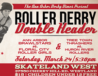 Roller Derby Bout Poster 3.24.12