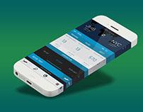 Flight Booking App UI Free PSD