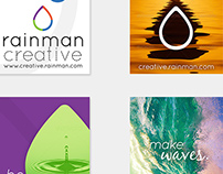 Rainman Creative brochure mocks