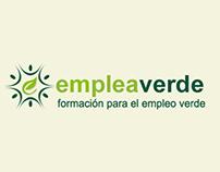 Branding corporativo de la empresa Emplea Verde