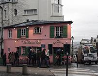 Paris, the cold winter days...