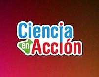 Ciencia en Acción | Brandbook logo