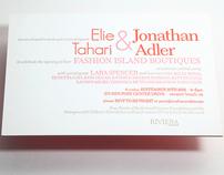 ELIE TAHARI & JONATHAN ADLER FASHION ISLAND OPENING