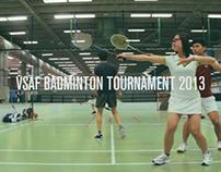 VSAF Badminton Tournament 2013 Promo No.1